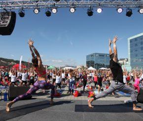 Yoga Day by DiR
