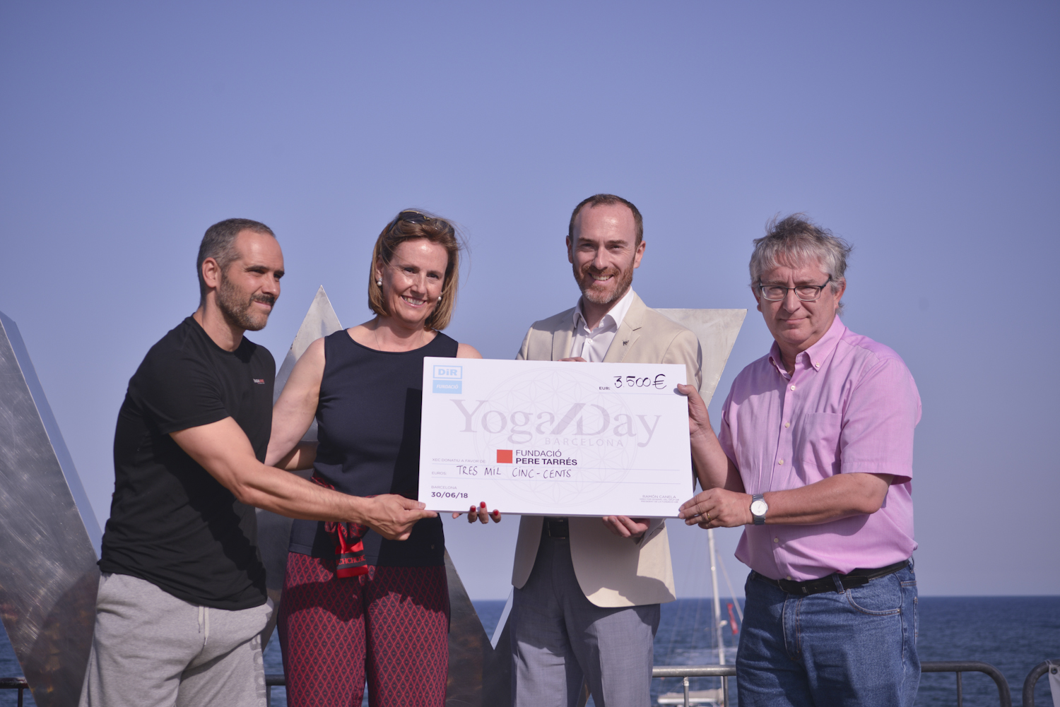 Yoga Day by DiR 2018 Taló solidari Pere Tarres