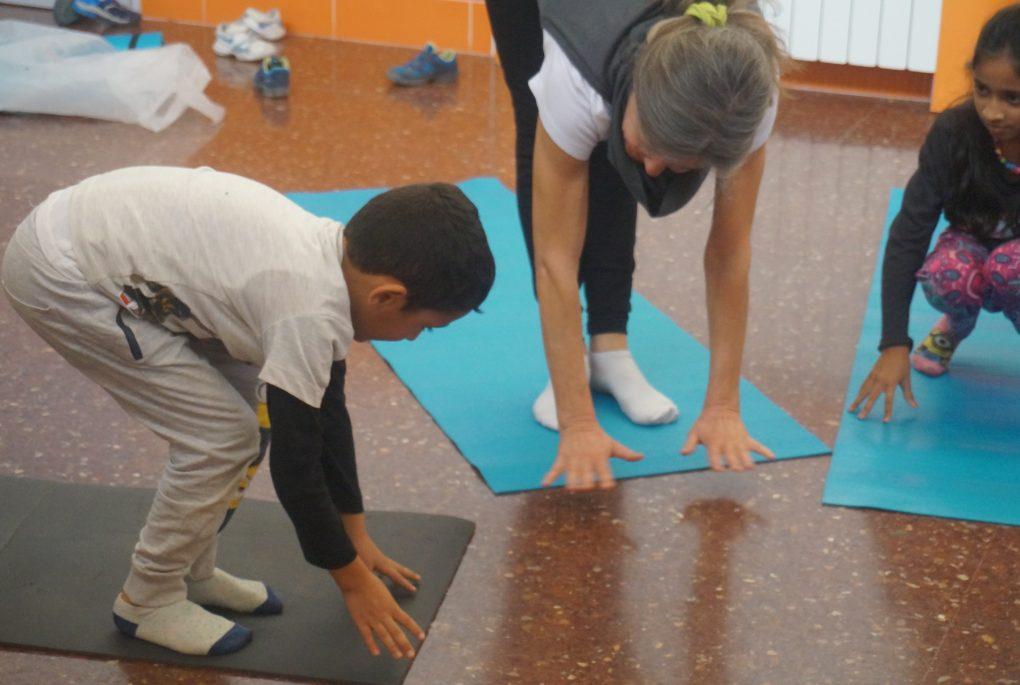 Fundacio DiR Pere Tarres nens ioga