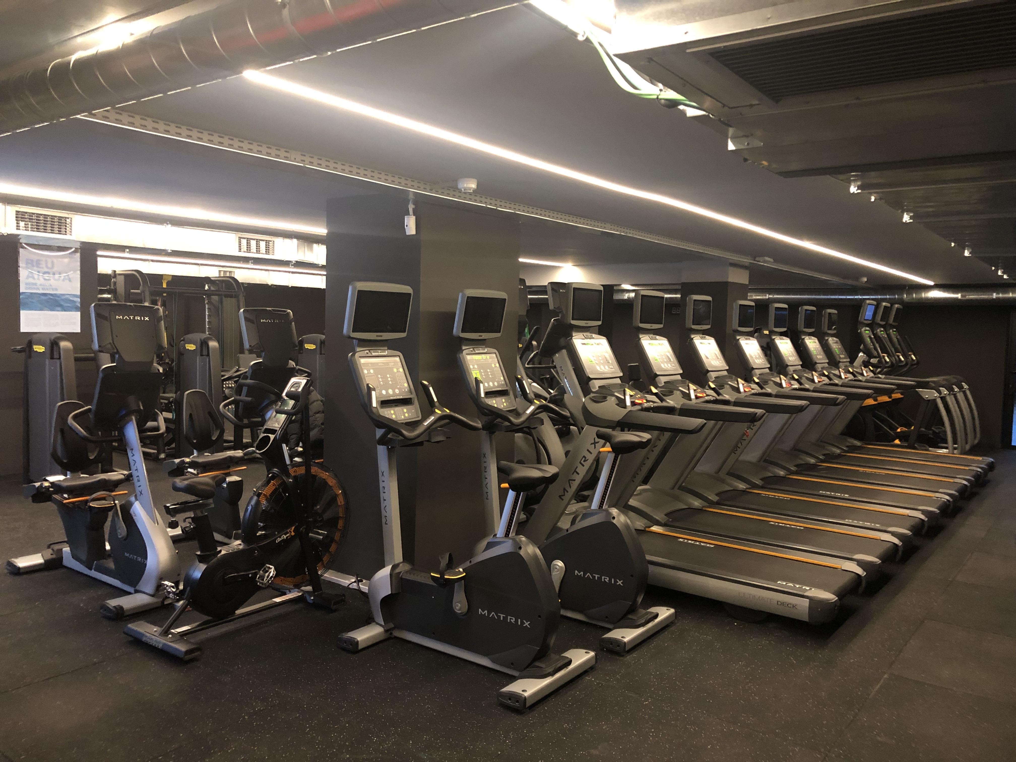 BDiR Calvet sala fitness