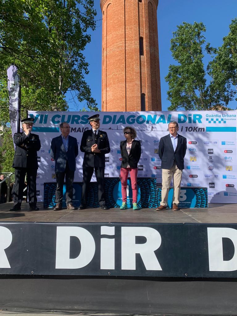 Cursa Diagonal 2019 autoritats