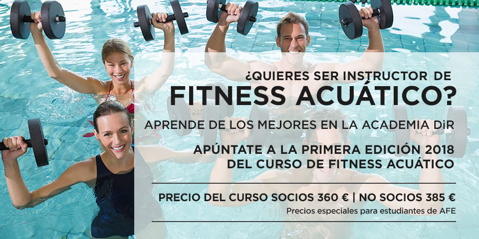 Instructor fitness acuático