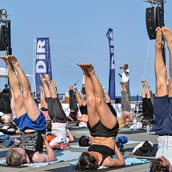 yoga en barcelona - Yoga Day by DiR
